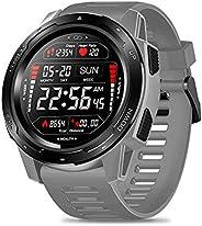 Volwco Zeblaze VIBE 5 1.3 Inch Round Screen Heart Rate Sleep Monitor Smart Watch Sport Bracelet Fitness Tracke
