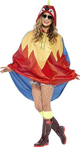 eien Party Poncho, Poncho mit Zugbeutel, One Size, 27611 (Gute Halloween-kostüm Ideen, Lustige)