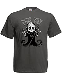 799506fde lepni.me Camisetas Hombre ¡La Muerte Viene! Ropa de Halloween Esqueleto