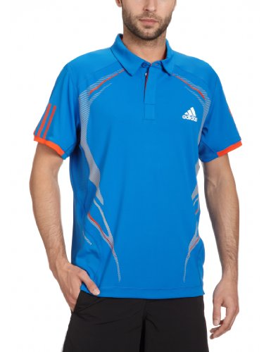 adidas Herren Polo Barricade Traditional prime blue s12/high energy s12