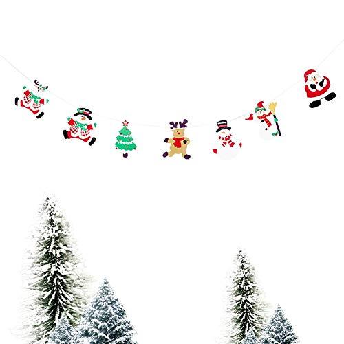 (Weihnachtsdekorationen Weihnachtsbaum Holzknöpfe Handwerk Weihnachtskarte hängen)
