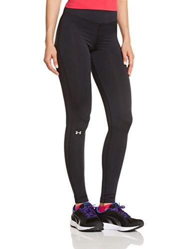 Under Armour Damen Fitness - Hose und Shorts UA Authentic CG Leggings, Black, XS (Compression Heatgear Fit Legging)