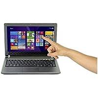 ZooStorm Touch Screen 11.6-Inch Laptop - (Black) (Intel Celeron N3050 1.80 GHz, 4 GB RAM, 32 GB SSD, Intel HD Graphics, Windows 10)