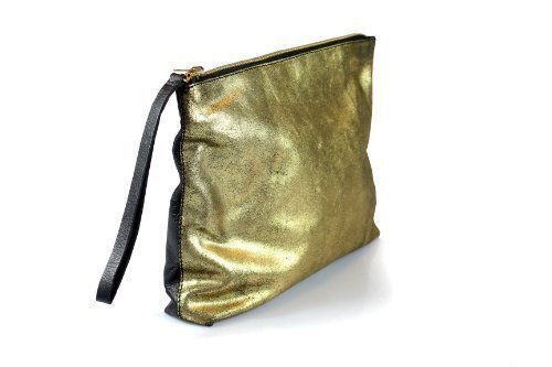 Corder London, Poschette giorno donna oro oro Metallic Crackle Gold