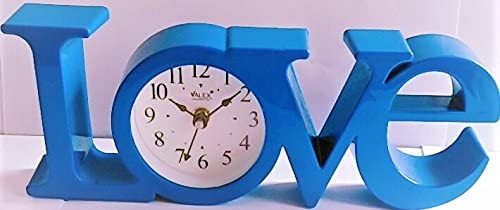 Gayatri Trader- Valentine Gift - Love Table Clock Watch, descent For Home And Office with attrative design…