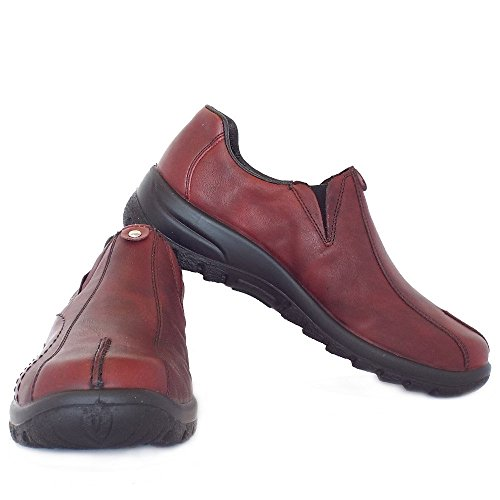 Rieker Chaussures L7153-33 Rouge Medoc