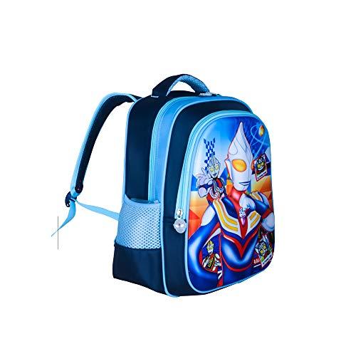 Kindergarten Cartoon Kinder Schultasche Schultasche Blue Ottoman Large 42 * 20 * 30cm -