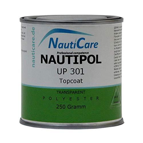 NautiCare NautiPol UP 301 Topcoat Transparent 250 g - Styrolfreies Polyesterharz - ohne MEKP Härter