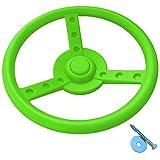 GK Lenkrad/Steuerrad für Spielturm, apfelgrün