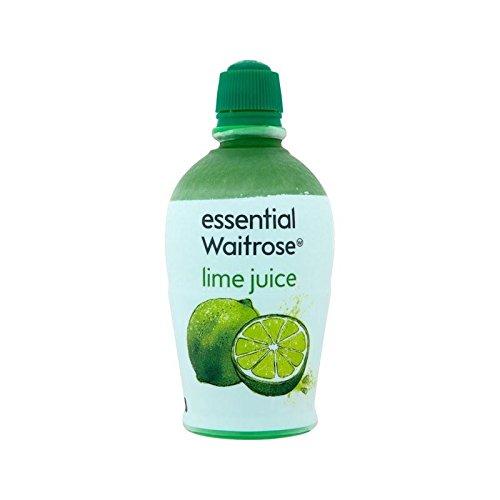 Jus De Lime Waitrose Essentielle 125Ml - Paquet de 2