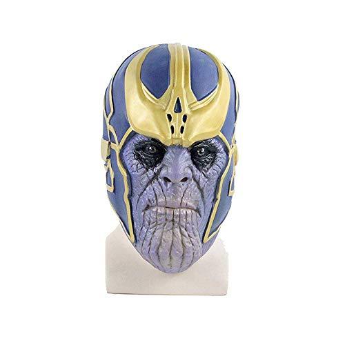 Wsjfc Cosplay Maske Halloween Kostüm Partyartikel, Avengers, Latex Maske Unlimited Handschuhe, Hero Maske, Kids 'Best Gifts, Maske + Yellowgloves,Maske (Besten Kid Kostüm)