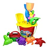 #3: Halo Nation Beach Tools Set with Bucket - Sand Play Toys - Gardening Tools Toys