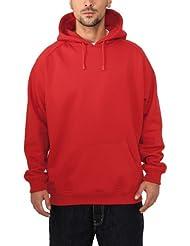 Urban Classics Sweatshirt, Hoodie Herren, Kapuzenpullover einfarbig (Pullover in vielen Farben erhältlich, ausgestattet mit Kapuze und Bauchtasche)