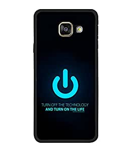 printtech Cool Quotes Nerdy Back Case Cover for Samsung Galaxy A5 (2016) :: Samsung Galaxy A5 (2016) Duos with dual-SIM card slots