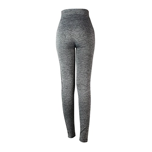 Glamexx24 Damen Workout Sporthose Yoga Pants Fitness Jogginghose Training Leggings Stretch Hose GrauWork