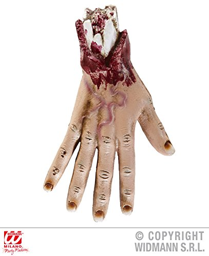 TISCHDEKO - HAND - 24 cm, Halloween Deko Horror Skelett Figuren Leichenteile Körperteile
