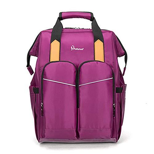 3a9699846 QIQI Mummy Bag Mommy Travel Backpack Bolsa De Pañales Impermeable  Multifunción