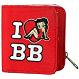 Betty Boop I Love BB Purse Wallet