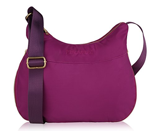 Suvelle RFID Expandable Hobo Travel Crossbody Bag, Handbag, Shoulder Bag,...
