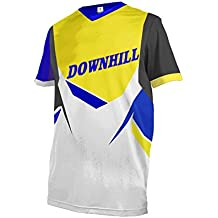 Uglyfrog Bike Wear Atmungsaktiv Trendy Herren Downhill//MTB Jersey Mountain Bike Shirt Fahrradtrikot Kurzarm Freeride BMX Top MF07