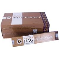 BASTONCINI D'INCENSO Golden Nag Chandan Fragranza legno di sandalo -