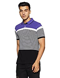 Fila Mens Printed Regular Fit T-Shirt (12004655002_Multi-Color_Small)