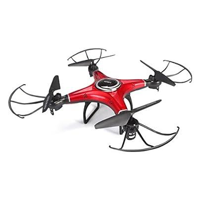 Bescita JJRC H5M 360° Flip Funktion 2.4GH 4CH 6 Achsen-Gyro RC 3D-Roll Quadcopter-Musik-Spiel-Drohne Nacht-Tracking UFO Drohne mit LED, Lautsprecher