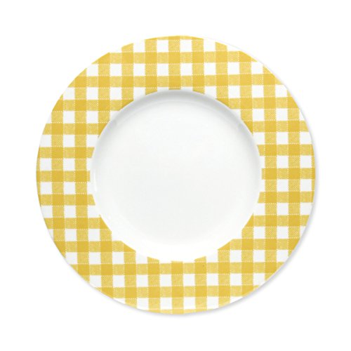 Bruno Evrard Assiette Dessert en Porcelaine 23cm - Lot de 6 - Home