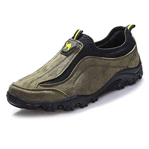 Men's Top Quality Genuine Leather Outdoor Climbing Trekking Hunter Shoes Color see picture 1