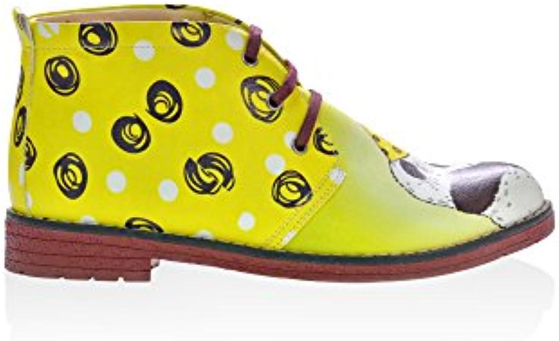Mr.   Ms. Goby Daisy Ankle stivali NHP102 Design innovativo Materiali selezionati Eccellente fattura   Bella apparenza    Uomini/Donna Scarpa