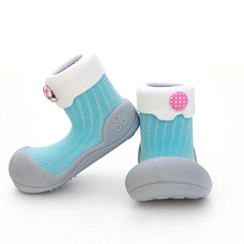 e- ergonomische Baby Lauflernschuhe, atmungsaktive Kinder Hausschuhe ABS Socken Babyschuhe Antirutsch 20 ()
