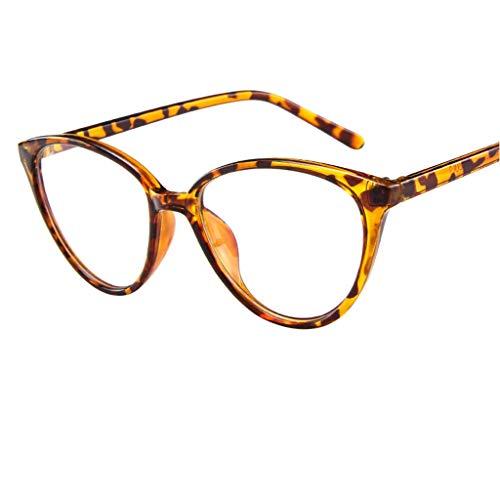 fazry Polarisierte Sonnenbrille für Frauen verspiegelte Gläser, modisch, lässig Gr. Einheitsgröße, gelb