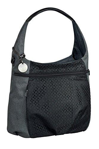 Lässig Casual Hobo Bag Wickeltasche/Babytasche inkl. Wickelzubehör, black