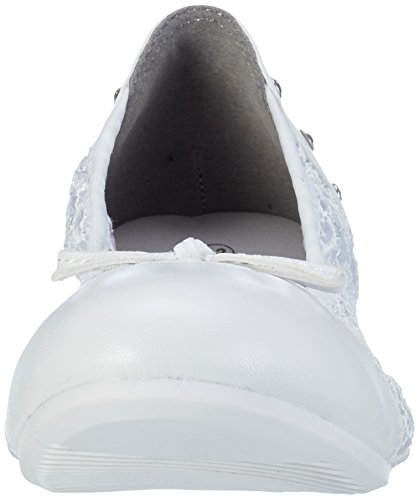Dockers by Gerli 40al605-617500, Mocassins Mixte Enfant Blanc (Weiss 500)