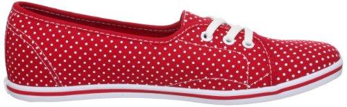 Vans U LEAH VSCY7OE, Sneaker unisex adulto Rosso (Rot (Polka Dot) tru))