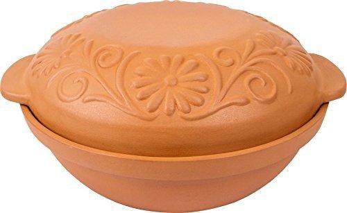 Pot en céramique isotherme 4l Pot à pain cocotte Grès Pot Marmite neuf 770605