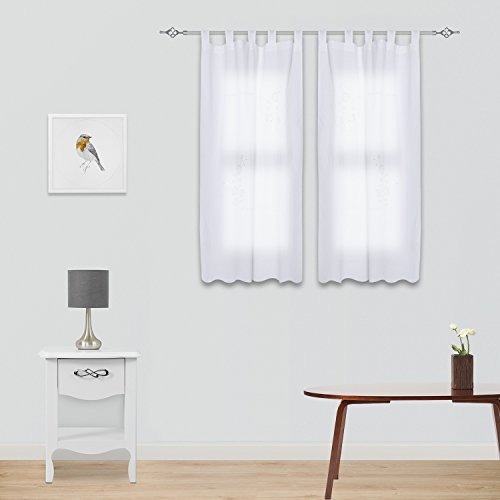Cortinas para ventanas peque as de ba o jueves lowcost - Cortina para ventana de bano ...