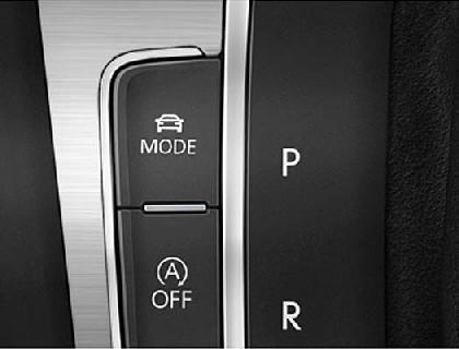 Golf 7 Fahrprofilauswahl Schalter mit Einbauanleitung