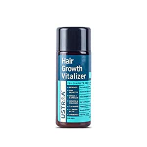 Ustraa Hair Growth Vitalizer with Redensyl & Green Tea Leaf Extract – 100 ml