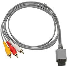 JAIS AV TV Audio Kabel 3 Chinch Scart Kabel für Nintendo Wii
