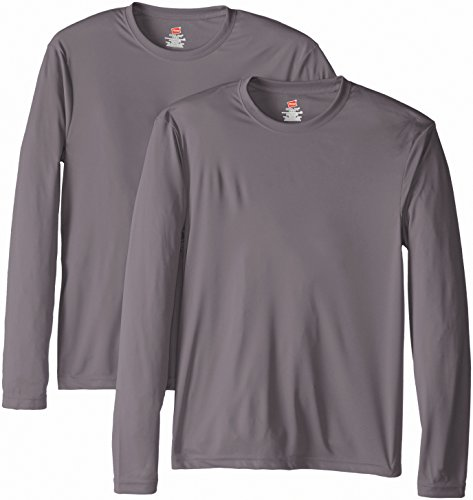 8823808b Vêtements Hauts DelifhtedHanes 4820 Hanes Cool DRI TAGLESS Mens T-Shirt  H4820