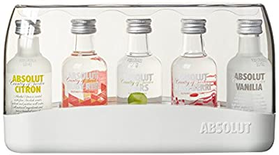 "AbsolutFive""Miniaturen""Wodka(5x0.05 l)"
