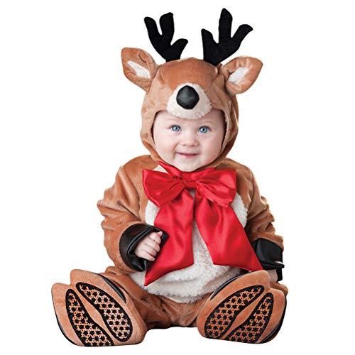 Odziezet Navidad Conjunto Bebé Niño Niña Papá