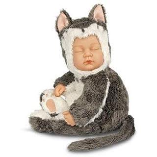 Anne Geddes Baby Kitten Beanie Doll