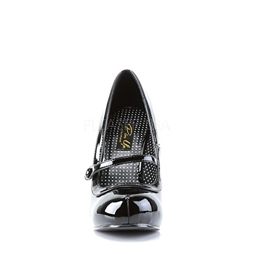 Higher-Heels, Scarpe col tacco donna nero di vernice