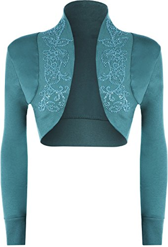 The Celebrity Fashion -  Cardigan  - Donna Teal