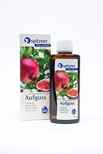 Spitzner Saunaaufguss Wellness Granatapfel-Feige (190ml) Konzentrat -