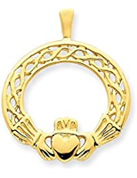 esCladdagh Y Colgantes Amazon Uk Jewelryweb 1ucFKl5JT3