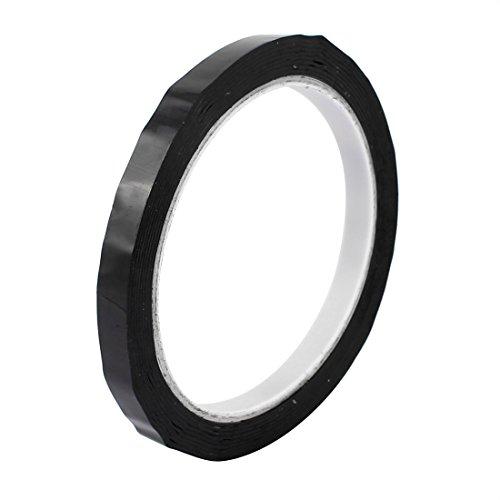 Blaue Mylar-band (Aexit 8 mm Einseitig starke Selbstklebende Mylar Band 50 m Länge entflammbar Schwarz)