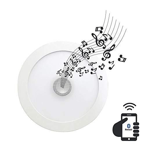 Downlight LED Ultraslim Empotrable Redondo con Altavoz Bluetooth Integrado 22W 1300lm Ø21cm